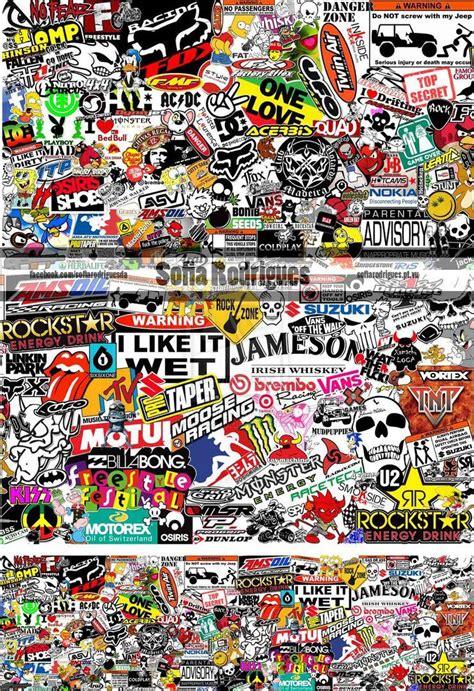 sticker bomb sticker bomb graffiti wallpaper
