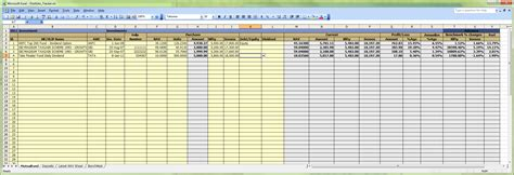 Tracking Spreadsheet by Excel Portfolio Tracker Moneyscaling