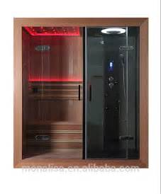 Faucet Water Temperature Luxury Bathroom Design Sauna Steam Shower Combination Room