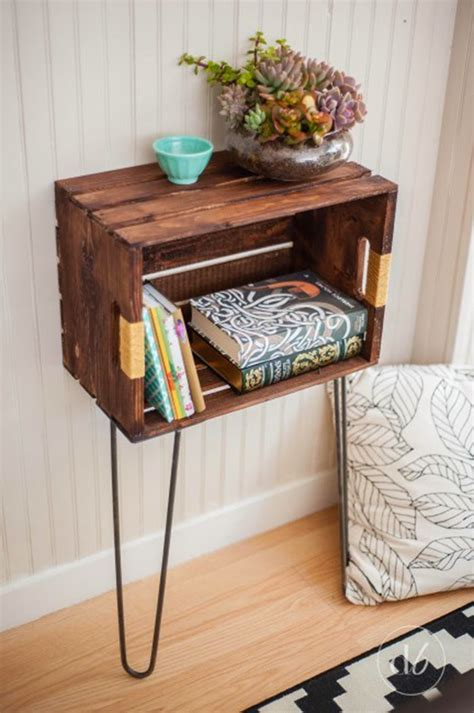 Crate Table by 15 Ways To Diy With Wine Crates