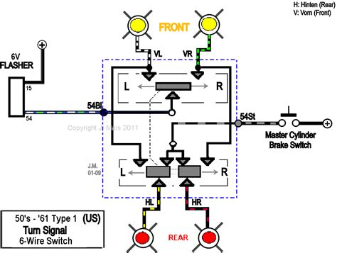 basic turn signal wiring diagram get free image about