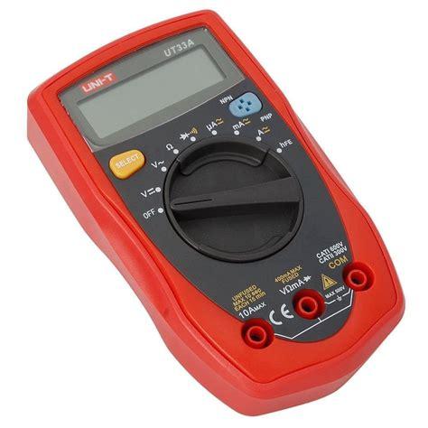 Uni T Ut136a Digital Multimeter Auto Range Ac Dc uni t ut33a handheld lcd digital multimeter auto range ac dc voltage dc curr f8j ebay