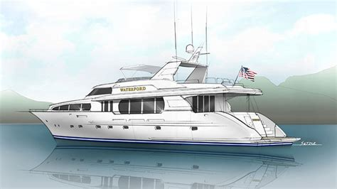 waterford refit making  year  yacht   megayacht news