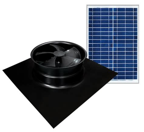 installing a gable vent fan solaro aire american made solar powered attic fan