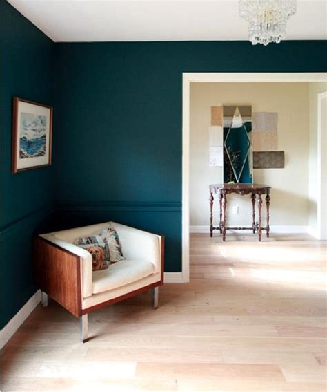 green accent wall current obsessions may day blue green and dark blue