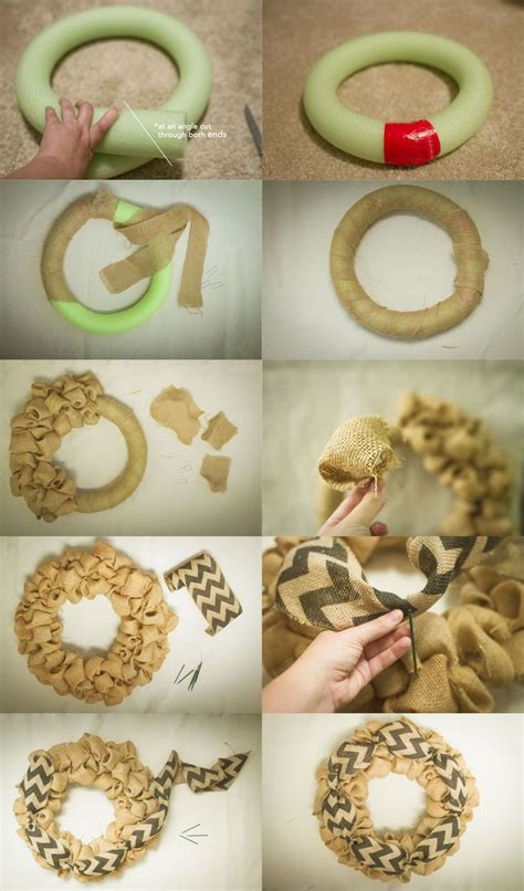 how to make a wreath with burlap 25 best ideas about pool noodle wreath on
