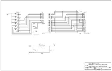 pull up resistor multiplex atmel at89cx051 parallel port programmer version 3