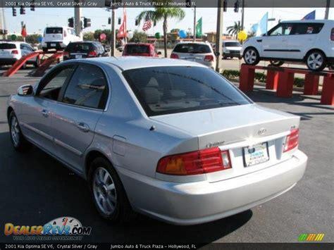 2001 Kia Optima Se 2001 Kia Optima Se V6 Silver Gray Photo 7