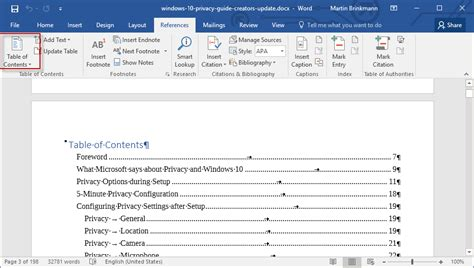 Lovely Home Design Software Online #7: Word-2016-table-of-contents.png