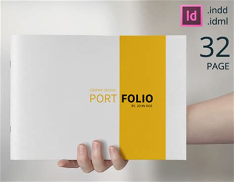 portfolio design template free graphic design portfolio template on behance