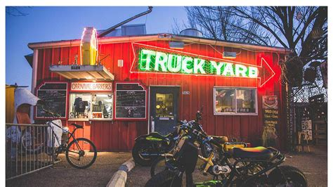Backyard Burger Dallas Dallas Truck Yard Will Bring A Playground For Grown Ups