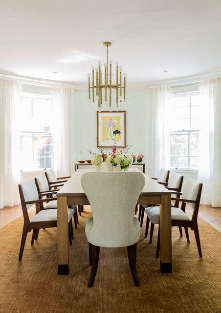 dining rooms boston brookline massachusetts transitional dining room