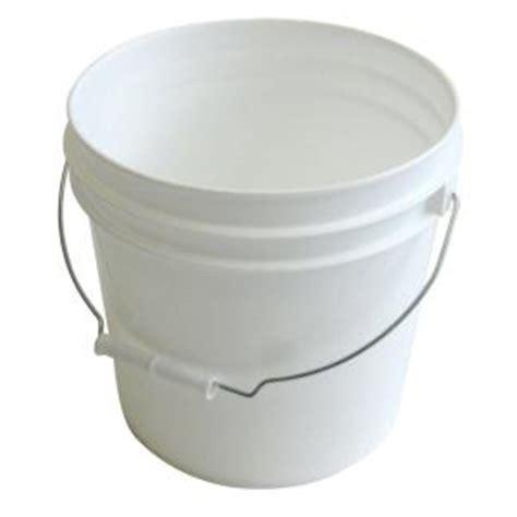 argee 2 gal white pail rg502 10 the home depot