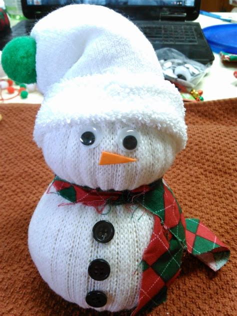 sock snowman craft with rice 20 winter activities for plus free printable