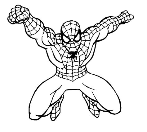 spiderman coloring pages games free spiderman coloring page superhero coloring page picgifs com