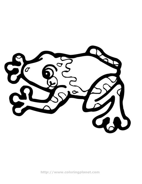 Tree Frog Coloring Pages Coloring Home Tree Frog Coloring Page