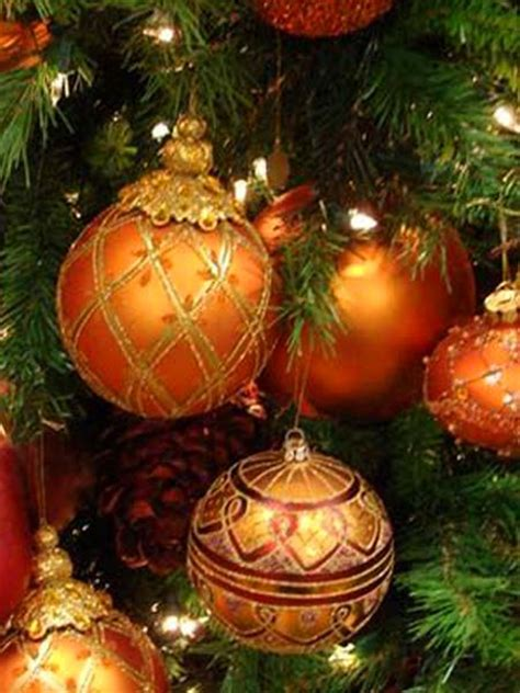 25 best ideas about orange christmas tree on pinterest