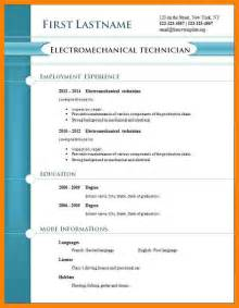 Resume Format In Pdf Free 6 Cv Format Pdf Addressing Letter
