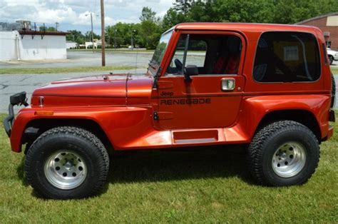 1991 Jeep Wrangler Top 1991 Jeep Wrangler Renegade With Top Fully Restored