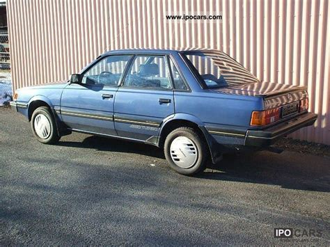 rare subaru models 1988 subaru l1800 4wd turbo sedan very rare 55 400 km
