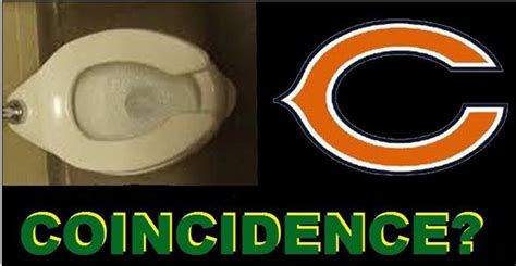 bears toilet seat coincidence shortarmguy s emails photo chicago bears logo