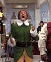 Elf Christmas Meme - 25 excitement gifs to perfectly express your joy