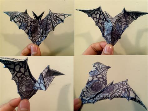 Origami Baseball Bat - ornamental origami bat by zsairax on deviantart