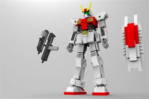 tutorial gundam lego lego moc gundam ironcad step iges solidworks 3d