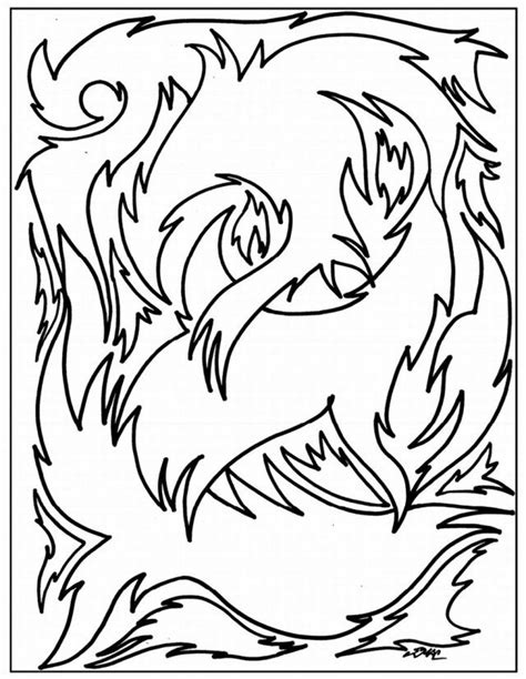 coloring pages abstract art printable printable abstract coloring pages coloring home