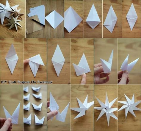 How To Make A Snowflake Origami - origami snowflakes origami