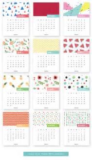 Calendar 2018 Printouts Monthly Printable Calendar 2017 Colorful Disaster