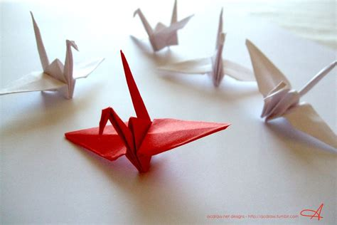 Origami Crane Lyrics - paper cranes by skuldpt on deviantart