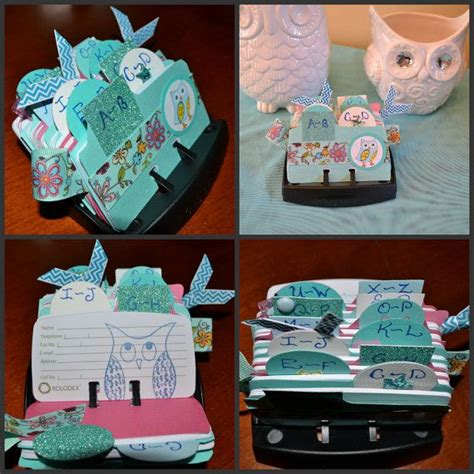 Origami Owl Company - origami owl inspired rolodex by ideezine4u on etsy 25 00