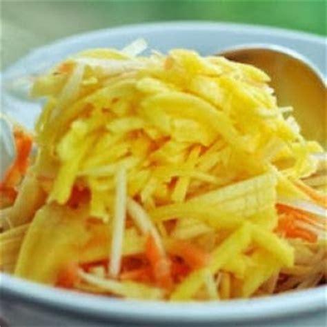 resep membuat asinan mangga serut
