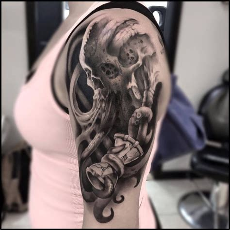 3d skull tattoo designs 3d skull by matt mrowka saving this so i the