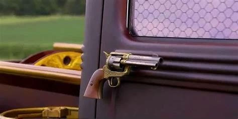 gun door handle road hauks forties era willys truck meets a colt 45 and