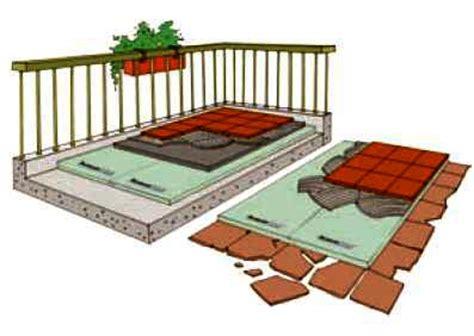 impermeabilizzazione terrazzi calpestabili emejing isolamento terrazza photos idee arredamento casa