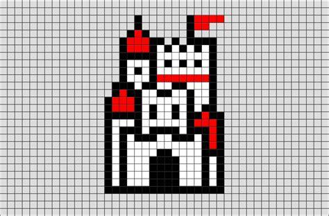 8 bit pixel mario bros for powerpoint mushroom kingdom castle mario pixel art brik