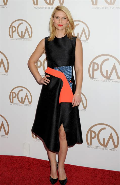 Style Of The Day Danes by Danes In Roksanda At The 2015 Producers Guild