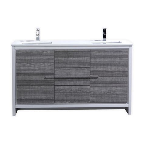 75 inch sink vanity top modern 60 sink ash gray modern bathroom vanity