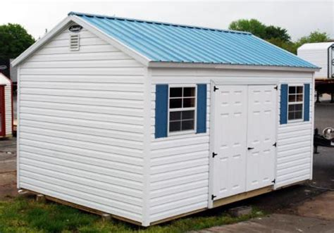 Leonards Sheds by Vinyl Storage Sheds Leonard Buildings Truck Accessories