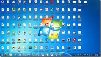 Small Desktop Icons Change Windows 7 Desktop Icons Into Small Explorer List View