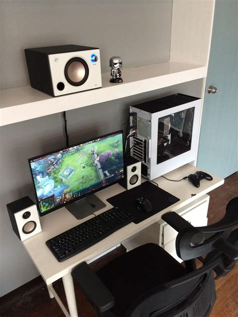 best home office setup 325 best home office images on pinterest gaming setup pc