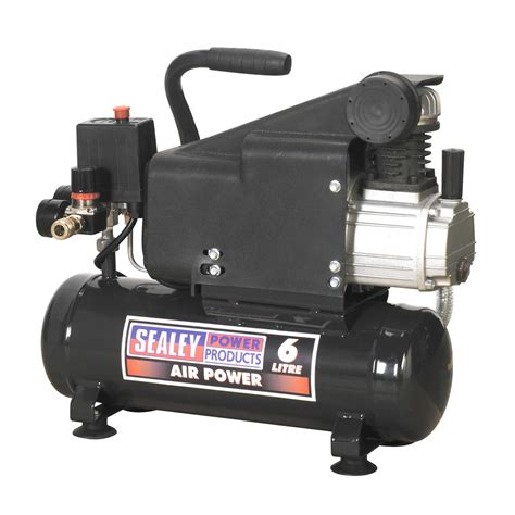 sealey compressor 6ltr direct drive 1hp garage air