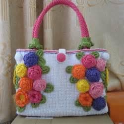 Handmade Fashion Accessories - knit handbag festival handbag handbag