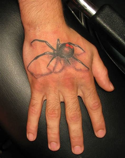 black hand tattoo 75 best black widow tattoos ideas