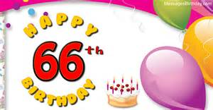 Wishes 66 years with wishes happy birthday picture