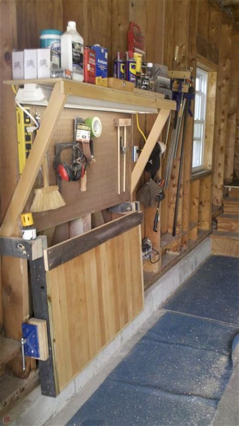 bench solutions fold away workbench she s happy me s happy fold away workbench by jr