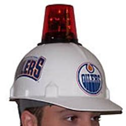hats with fans on them hockey had beacon light