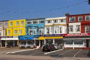 Yellow And Blue Bedrooms hotels on blackpool promenade